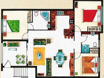 Central Plaza Port Douglas Apartment Floorplan
