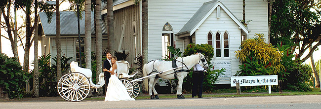Wedding Reception at Port Douglas